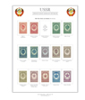 Ruskystamps Россия stamp album page previews